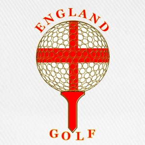 England golf ball on tee Polo Shirts - Baseball Cap