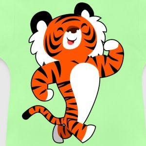 Cute Strong Cartoon Tiger by Cheerful Madness!! Hoodies - Baby T-Shirt
