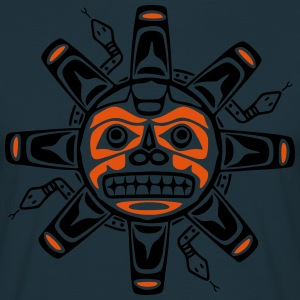 Native american sun, tribal art symbol, indians, Hoodies & Sweatshirts - Men's T-Shirt
