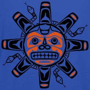 Native american sun, tribal art symbol, indians, Felpe - Top da donna della marca Bella