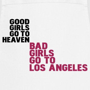 Wit bad girls go to los angeles T-shirts - Keukenschort