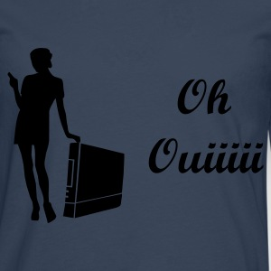 Ciel Oh Ouiiiii T-shirts - T-shirt manches longues Premium Homme