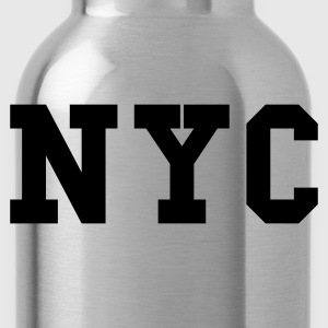 Navy nyc - new york city T-Shirts - Trinkflasche