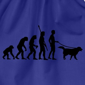 evolution_dog T-Shirts - Drawstring Bag