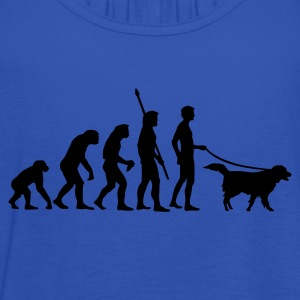 evolution_dog T-Shirts - Women's Tank Top by Bella