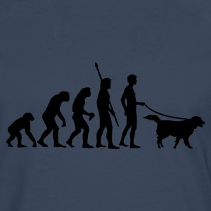 evolution_dog Tee shirts - T-shirt manches longues Premium Homme