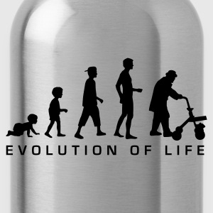 evolution_life_man_b Magliette - Borraccia