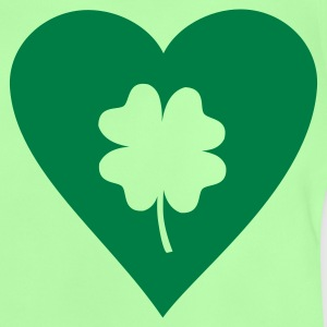 Kelly green Shamrock - St. Patricks Kinder T-Shirts - Baby T-Shirt