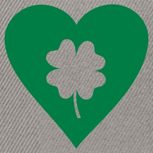 Bottlegreen Shamrock - St. Patricks T-Shirts - Snapback Cap