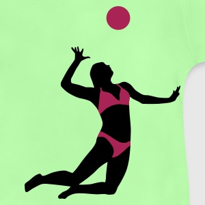 beachvolleyball_woman_2c T-shirts - Baby T-shirt