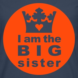 I am the Big Sister - Men's Premium Longsleeve Shirt