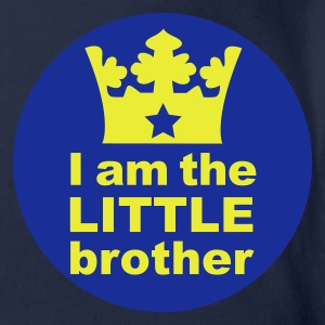 I'm the Little Brother Kinder - Organic Short-sleeved Baby Bodysuit