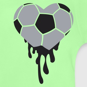 Vert tendre Bleeding Heart pour le football T-shirts Enfants - T-shirt Bébé