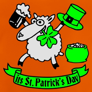 st_patricks_sheep_b Shirts - Baby T-shirt