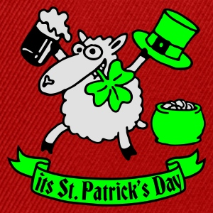 st_patricks_sheep_b Tee shirts - Casquette snapback