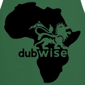 Khaki green African dubwise Men's T-Shirts - Cooking Apron