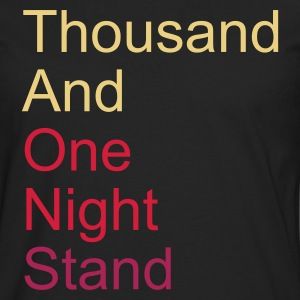 thousand and one night stand 3colors T-Shirts - Premium langermet T-skjorte for menn
