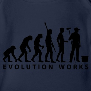 evolution_maler_b_2 Shirts - Organic Short-sleeved Baby Bodysuit