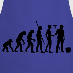 evolution_maler_b T-shirts - Förkläde