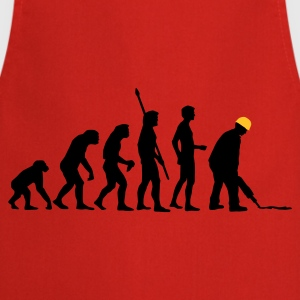 evolution_bauarbeiter_2c T-Shirts - Cooking Apron