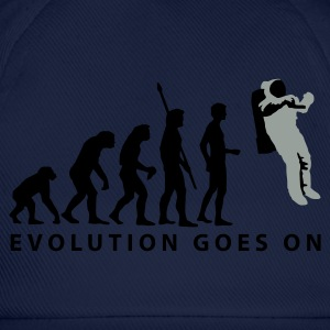 evolution_astronaut_b_2c T-Shirts - Baseball Cap