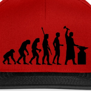 evolution_schmied_b Shirts - Snapback Cap