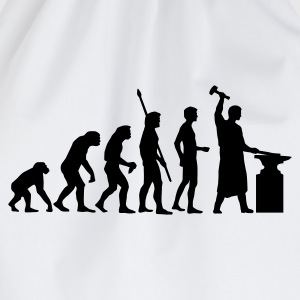 evolution_schmied_b T-Shirts - Drawstring Bag