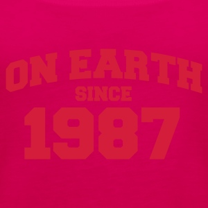 Light pink onearth1987 T-shirts - Vrouwen Premium tank top