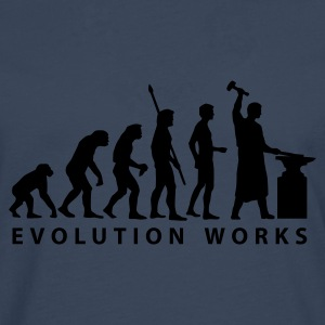 evolution_schmied T-skjorter - Premium langermet T-skjorte for menn