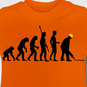 evolution_bauarbeiter_2c T-shirts - Baby-T-shirt