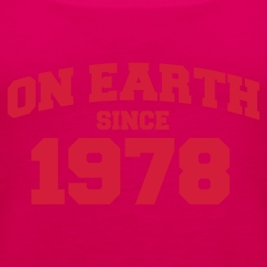 Light pink onearth1978 T-shirts - Vrouwen Premium tank top