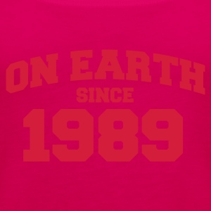 Light pink onearth1989 T-shirts - Vrouwen Premium tank top