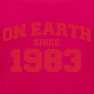 Light pink onearth1983 T-shirts - Vrouwen Premium tank top