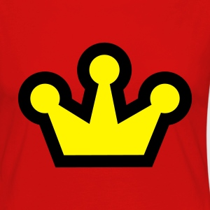 Red Original Crown (2c, NEU) Women's T-Shirts - Women's Premium Longsleeve Shirt