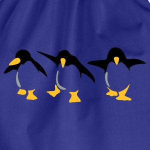 Türkis Pinguin Kinder T-Shirts - Turnbeutel
