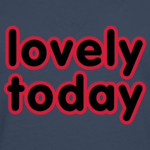 Jeansblau Lovely today © T-Shirts - Men's Premium Longsleeve Shirt
