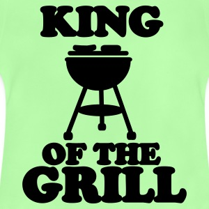 Kelly green king of the grill Kids' Shirts - Baby T-Shirt