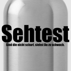 Rot Sehtest T-Shirts - Trinkflasche