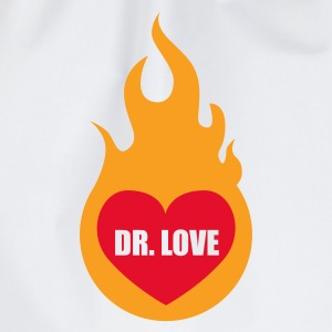 Weiß Dr. Love © T-Shirts - Drawstring Bag