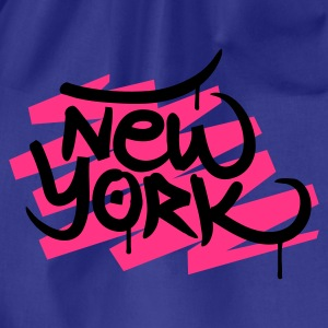 Divablå New York T-shirts - Sportstaske