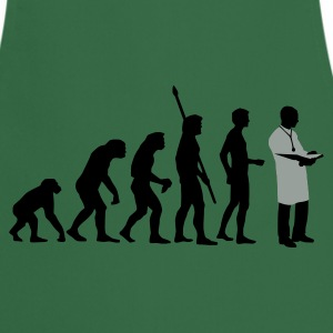 evolution_arzt_b_2c Shirts - Keukenschort