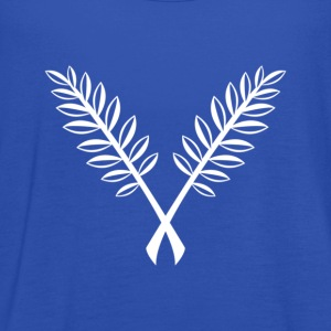 Sky Lorbeerkranz laurel wreath white T-Shirts - Frauen Tank Top von Bella