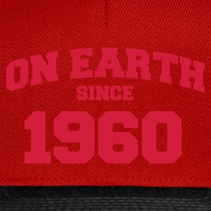 Rose clair onearth1960 T-shirts - Casquette snapback