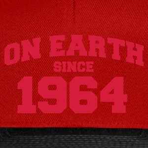 Rose clair onearth1964 T-shirts - Casquette snapback