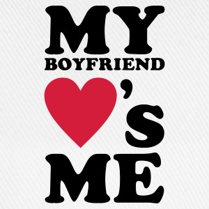 Wit My Boyfriend loves me T-shirts - Baseballcap