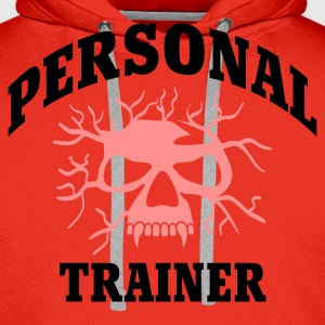 Rot Personal Trainer © T-Shirts - Herre Premium hættetrøje