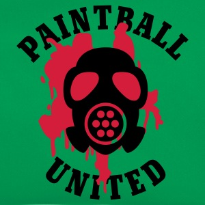 Khaki grün Paintball United - Mask © T-Shirts - Bandolera retro