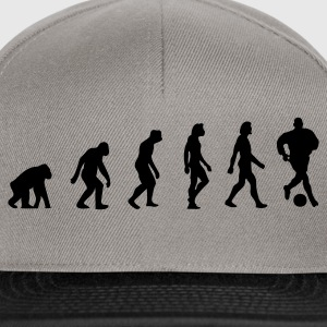 Khaki green Football Soccer Evolution (1c) Men's T-Shirts - Snapback Cap