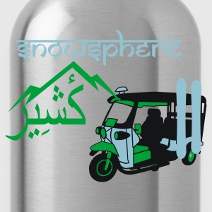 Ash Ski Kashmir Tuk Tuk Men's T-Shirts - Water Bottle