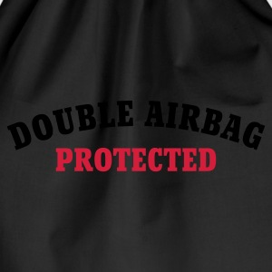 Chocolate DOUBLE AIRBAG PROTECTED © T-Shirts - Sportstaske